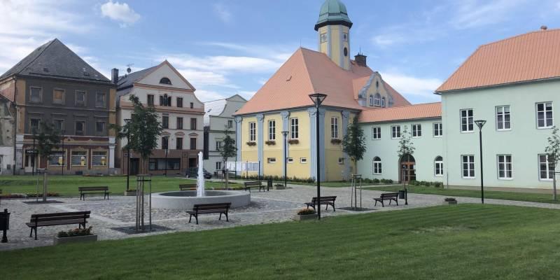 Náměstí v Javorníku