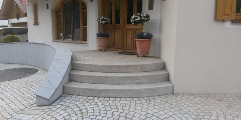 Dlažba u rodinného domu Bad Tölz, Německo