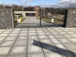Zpevnění ploch hřbitova v Havířově